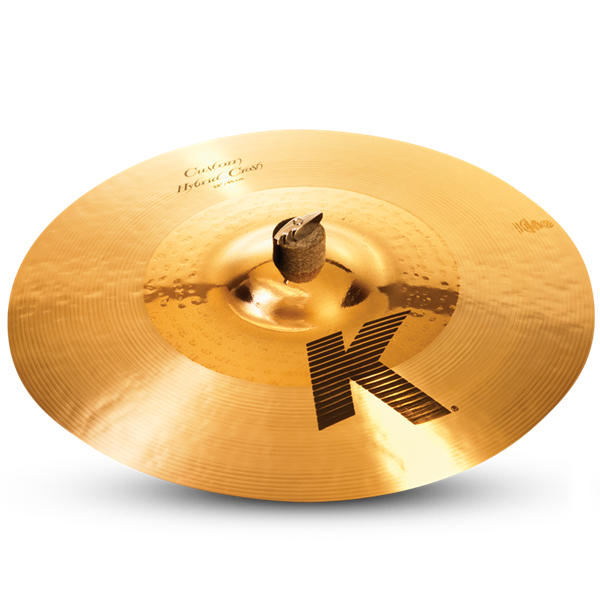 "ZILDJIAN 18"" K CUSTOM HYBRID CRASH-0"