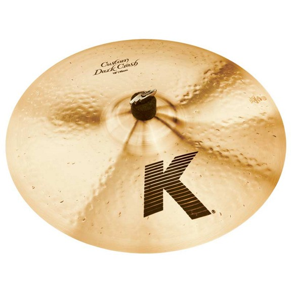 "ZILDJIAN 18"" K CUSTOM DARK CRASH-0"