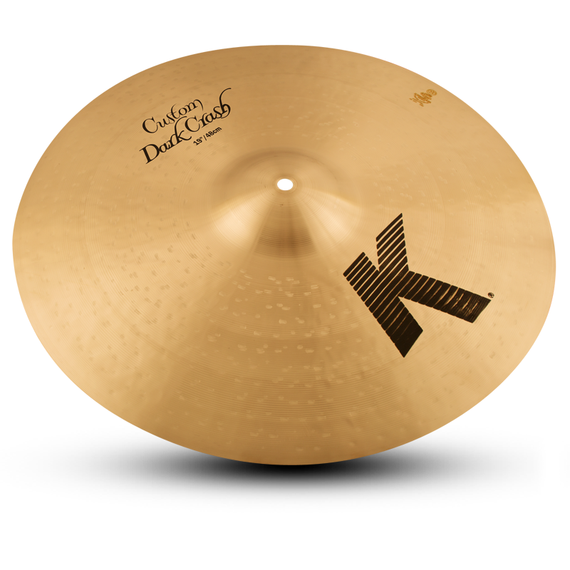 "ZILDJIAN 19"" K CUSTOM DARK CRASH-0"