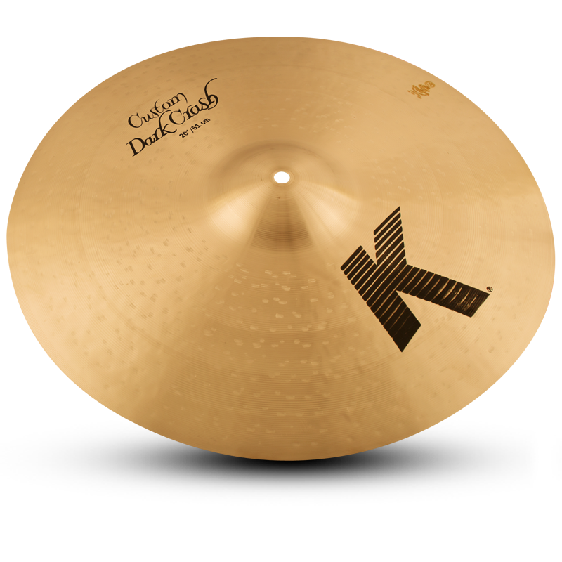 "ZILDJIAN 20"" K CUSTOM DARK CRASH-0"