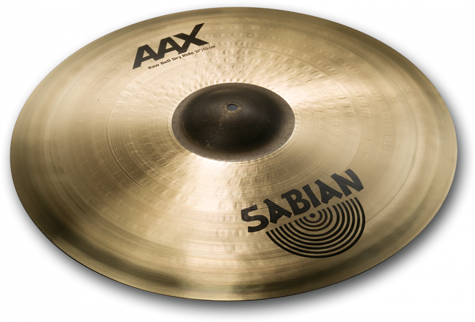 "SABIAN 21"" AAX RAW BELL DRY RIDE -0"