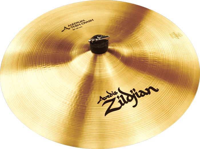 "ZILDJIAN 18"" A ZILDJIAN MEDIUM THIN CRASH-0"