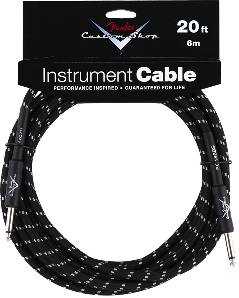 Fender Custom Shop Cables 6mt.-0
