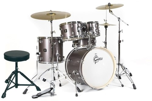 GRETSCH DRUMSET ENERGY GREY STEEL-0