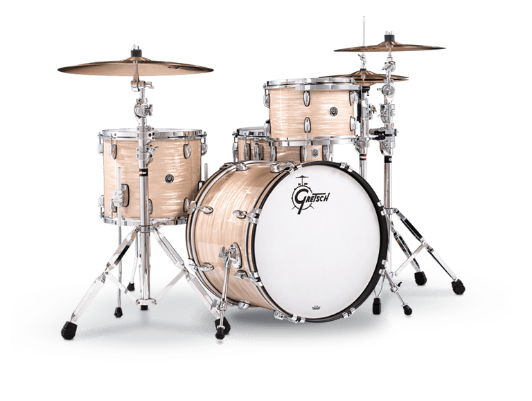 GRETSCH GB-RC423 DRUMSET BROOKLYN CREME OYSTER-0