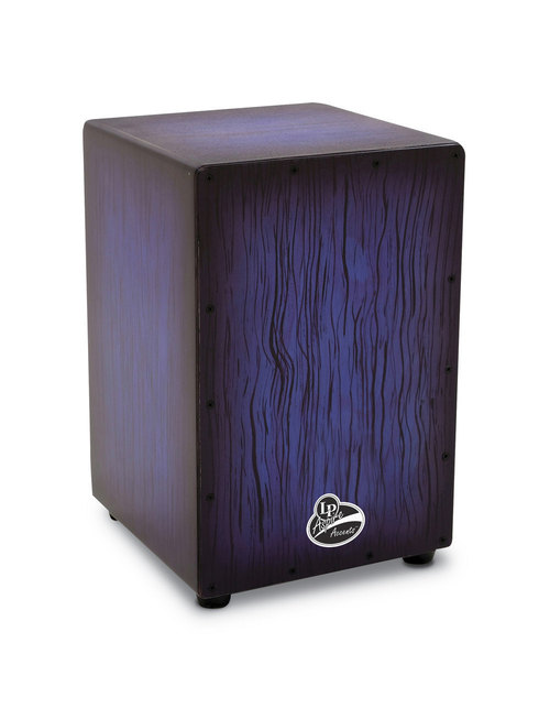 LP ASPIRE ACCENTS CAJON BLUEBURST STREAK-0