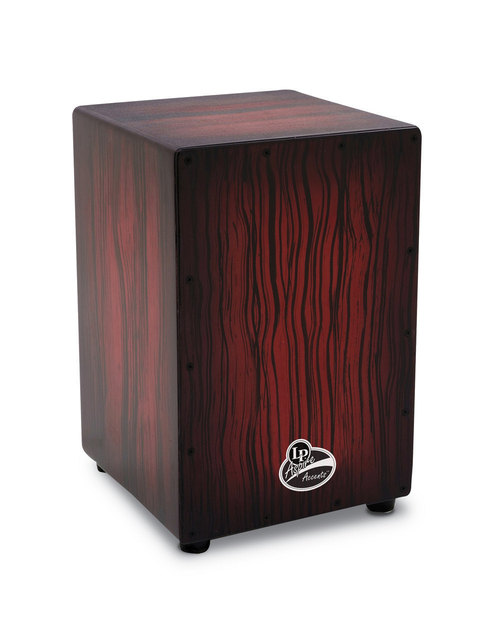 LP ASPIRE ACCENTS CAJON DARK WOOD STREAK-0