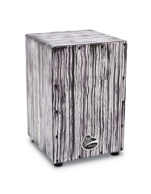LP ASPIRE ACCENTS CAJON WHITE STREAK-0