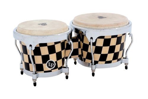 LP ASPIRE ACCENT BONGOS CHECKER BOARD-0