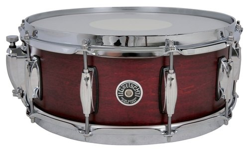 "GRETSCH 14""X5,5"" RULLANTE USA BROOKLYN SATIN CHERRY RED-0"