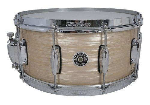 "GRETSCH 14""X6,5"" RULLANTE USA BROOKLYN CREAM OYSTER-0"
