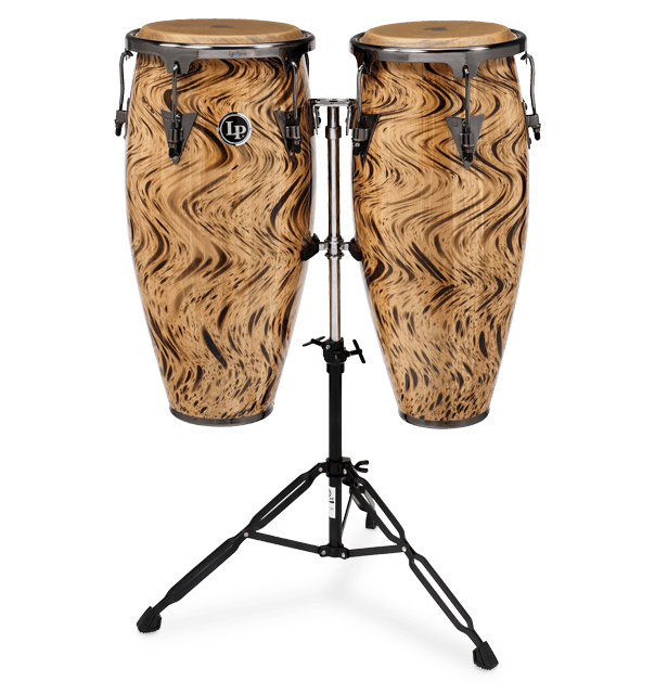 "LP ASPIRE ACCENT SET CONGAS HAVANA CAFE' 10""/11""-0"