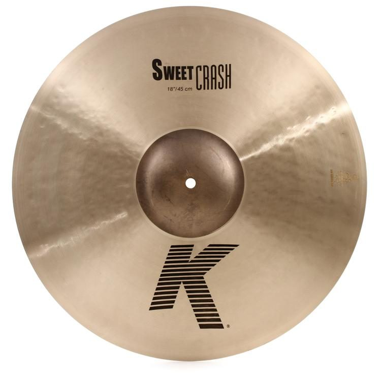 "ZILDJIAN 18"" K ZILDJIAN SWEET CRASH -0"