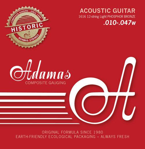 Adamas acustica/folk Historic Reissue Phosphor Bronze 12 corde-0